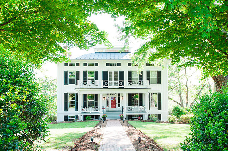 Wedding-Guildford-Farm-Manor-Home-Front-Porch-Grand Lawn